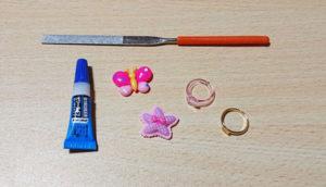 子供用の指輪に必要な材料